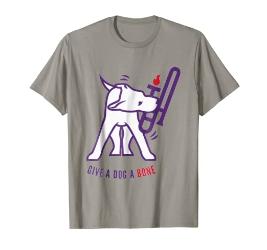 Amazon.com  Give A Dog A Bone T-shirt  Clothing 8866e9549b9