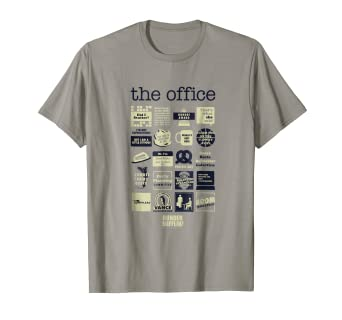 5a0d41843 Image Unavailable. Image not available for. Color: The Office Quote Mash-Up  Funny T-Shirt - Official Tee