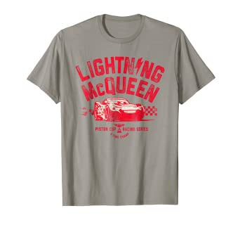 Image Unavailable. Image not available for. Color  Disney Pixar Cars 3 Lightning  McQueen Racing Graphic T-Shirt 5eb3eb481