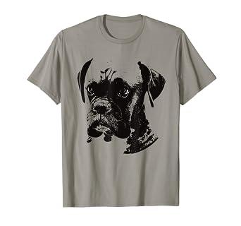 Amazon Com Boxer Dog T Shirt Clothing