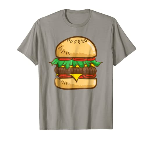 burger shirt giant cheeseburger perfect halloween costume