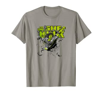 4199fc05 Image Unavailable. Image not available for. Color: She-Hulk Breakthrough  Graphic T-Shirt