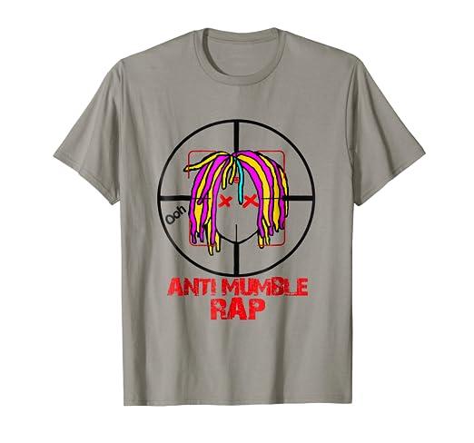 3439a5a423173 Amazon.com: Killshot, Anti Mumble Rap T-shirt for Men's nd women's ...