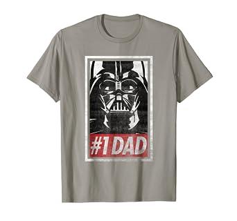 c3ab0ca7b Amazon.com: Star Wars Darth Vader #1 Dad Propaganda Graphic T-Shirt ...