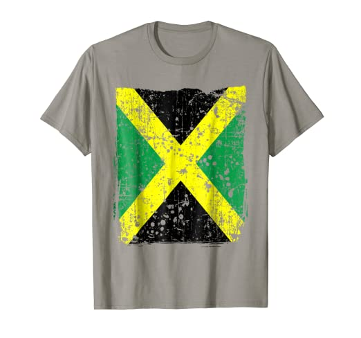 cc86c6a77 Image Unavailable. Image not available for. Color  Faded Jamaican Flag