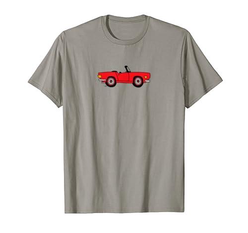 Triumph British Cartoon T shirt Redline product image
