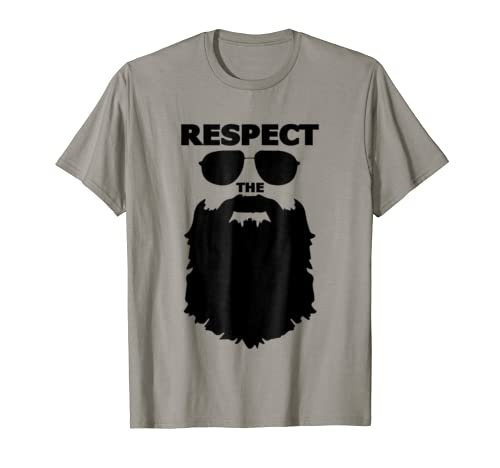 Respect Beard Novelty Graphic Shirt product image