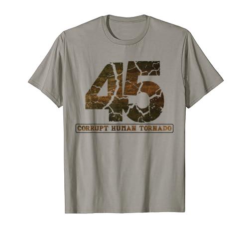 Corrupt Human Tornado Anti Trump T Shirt