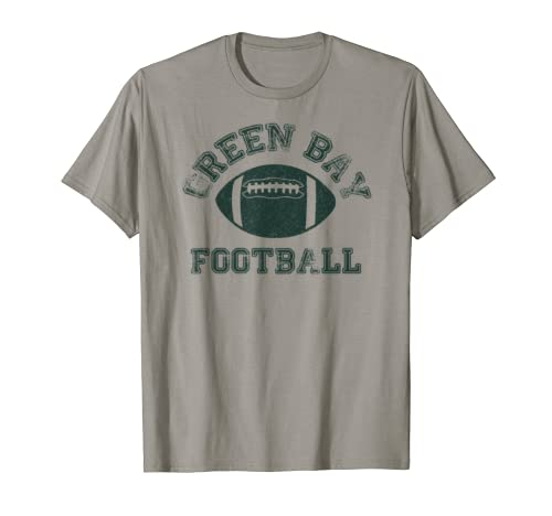 Green Bay Distressed Pro Football Team T Shirt Mens Womens T Shirt