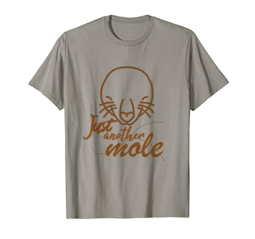 Mole day oct.23 T-Shirt Earth Underground Gift Idea