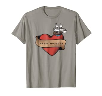 I love Massachusetts t-shirt - Massachusetts tee Boston