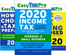 Easy Tax Pro LLC (3 Book Series)