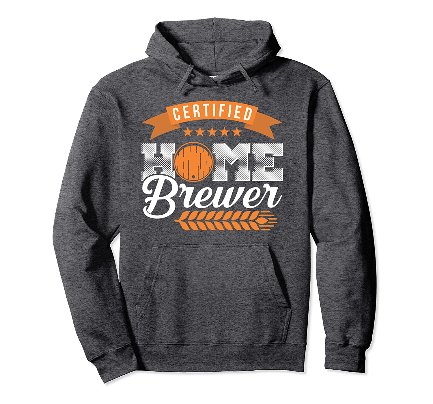 Funny Home Brew Beer Pullover Hoodie