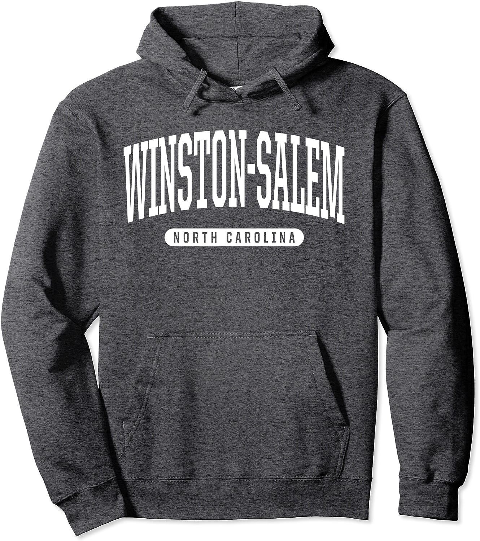 Winston-Salem Hoodie Sweatshirt College University Style NC