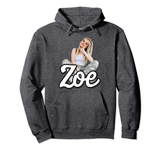 Amazon Com Best Gift For Zoe Lovers Pullover Hoodie Clothing