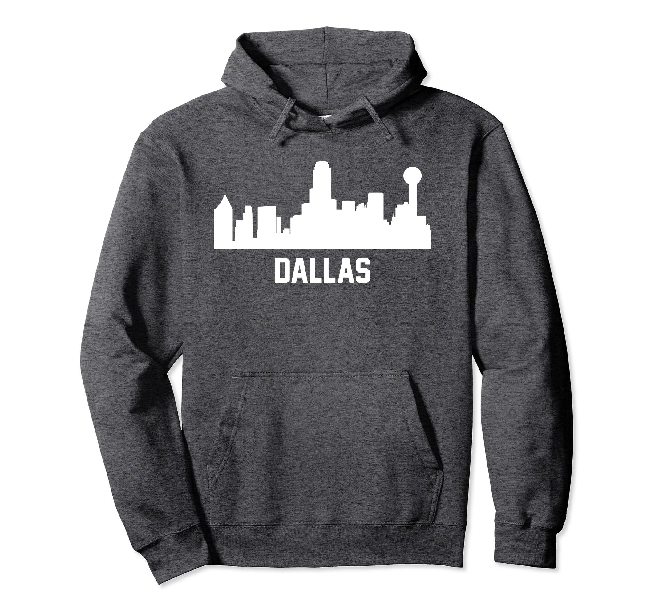 Dallas Texas Skyline Cityscape Hoodie-Teechatpro