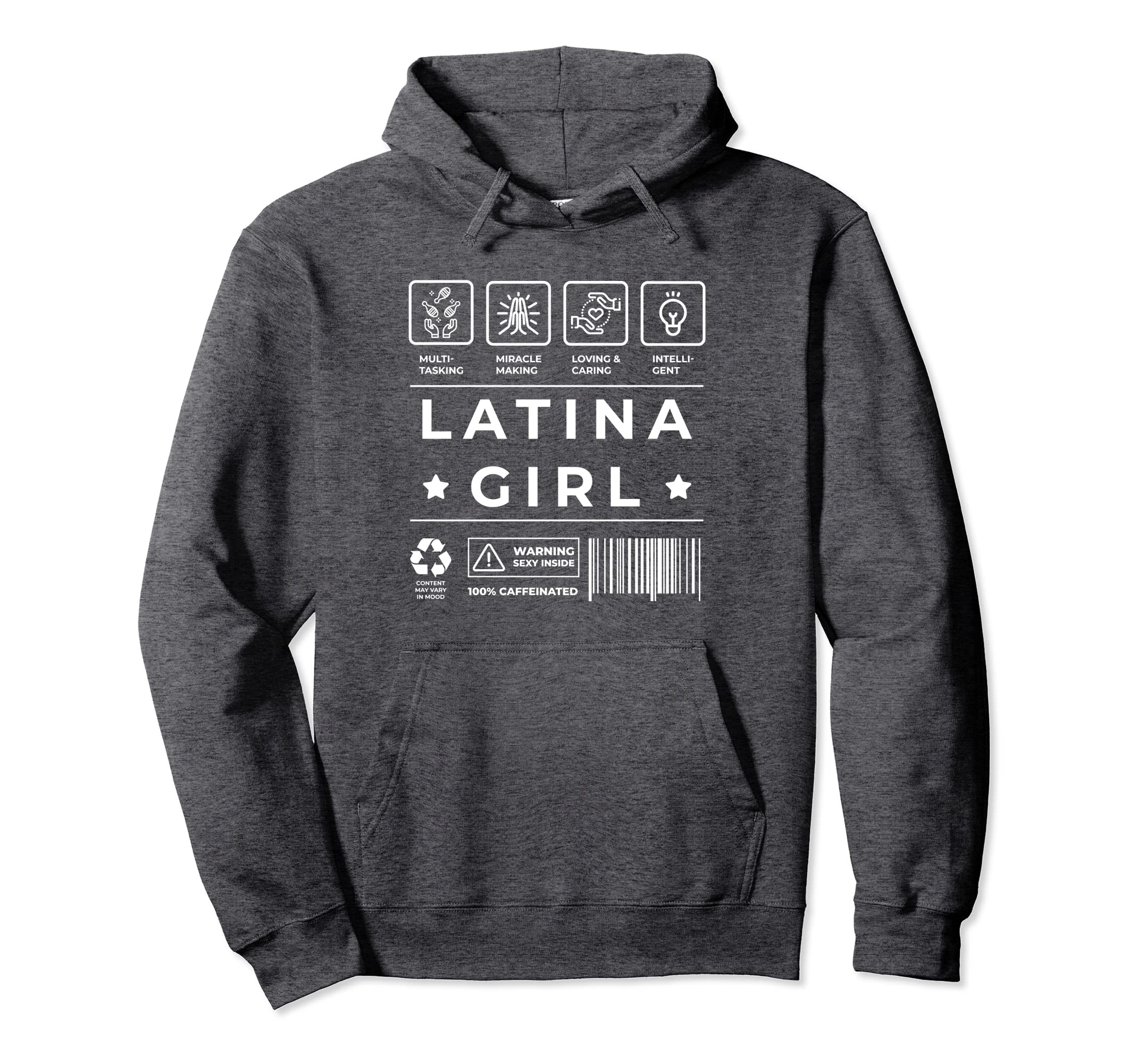 Amazon.com: Latina Power Hoodie for Women Sudadera Mujer Latina: Clothing