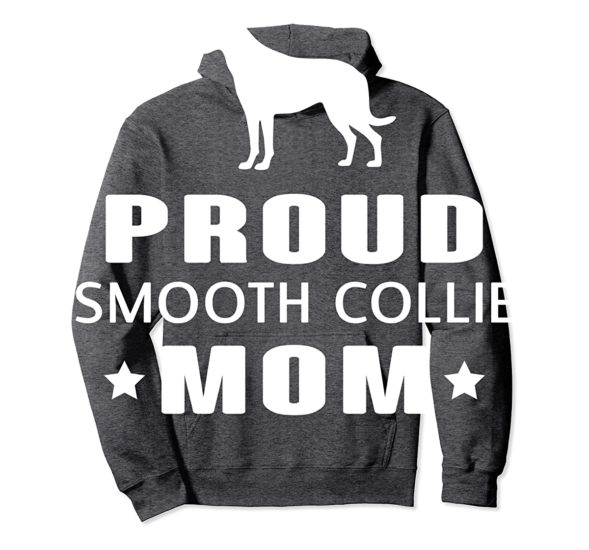 Smooth Collie Funny T-Shirts For Dog Lovers-Hoodie-Dark Heather