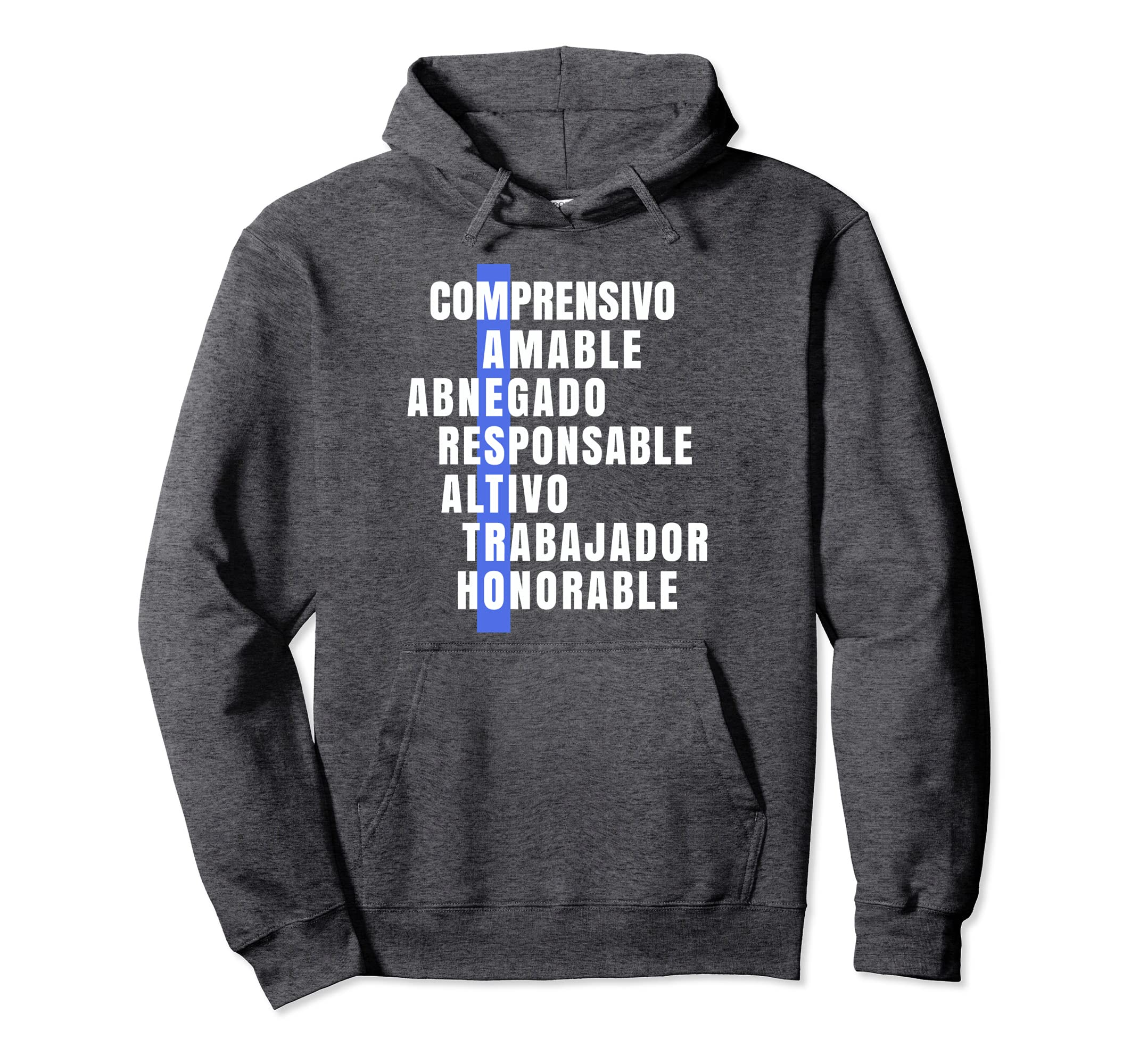Amazon.com: Maestro vintage Hoodies Navidad Cumpleanos: Clothing