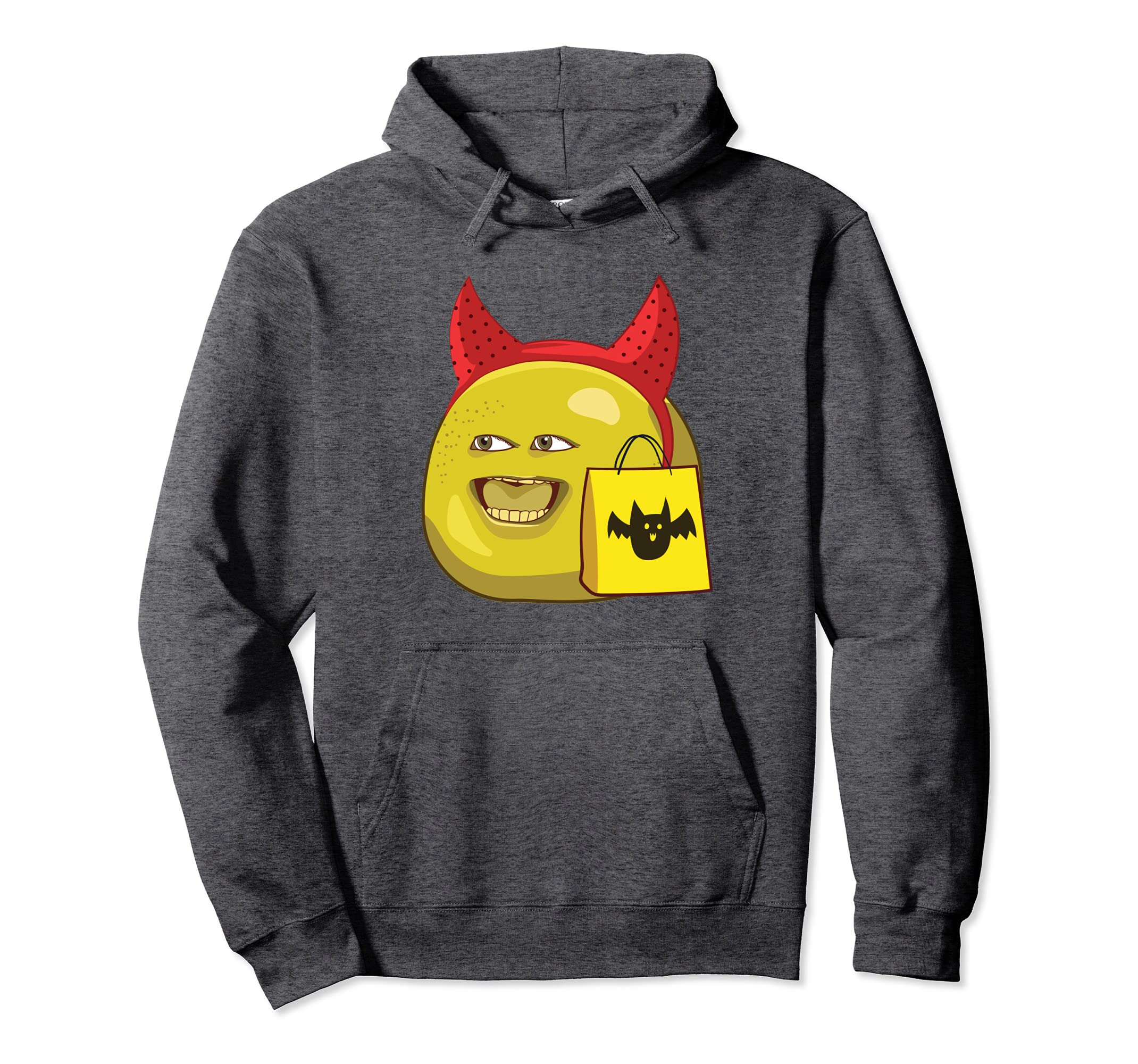 Annoying Orange Halloween Grapefruit Pullover Hoodie