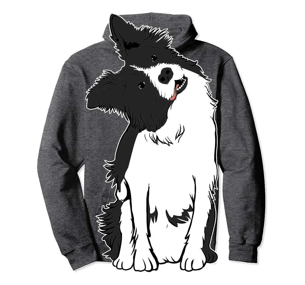 Walkies? Beautiful Border Collie Shirt - Sheepdog Gifts-Hoodie-Dark Heather