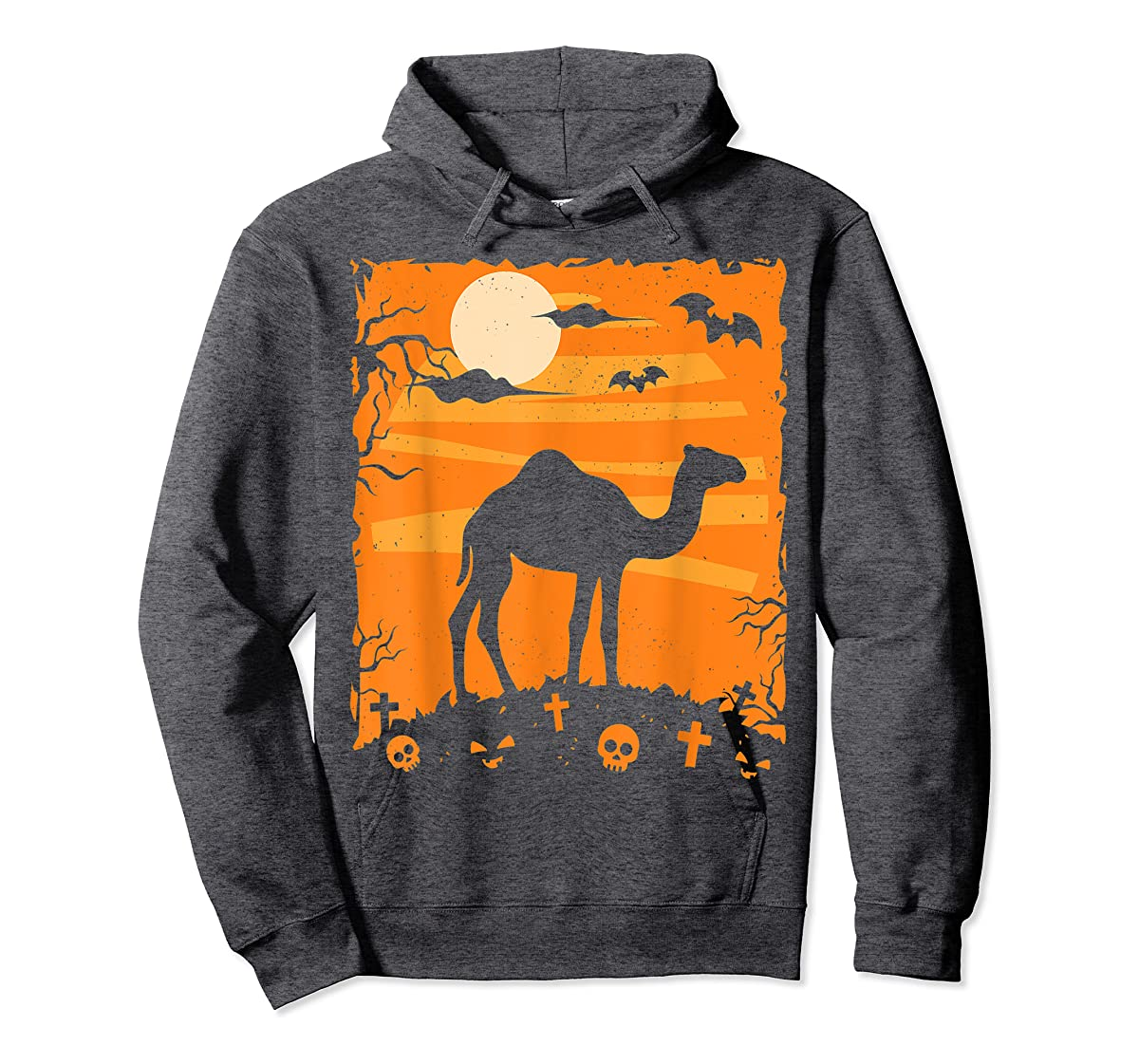 Camel Halloween Costume Animal Funny Pumpkin Outfit Gift T-Shirt-Hoodie-Dark Heather