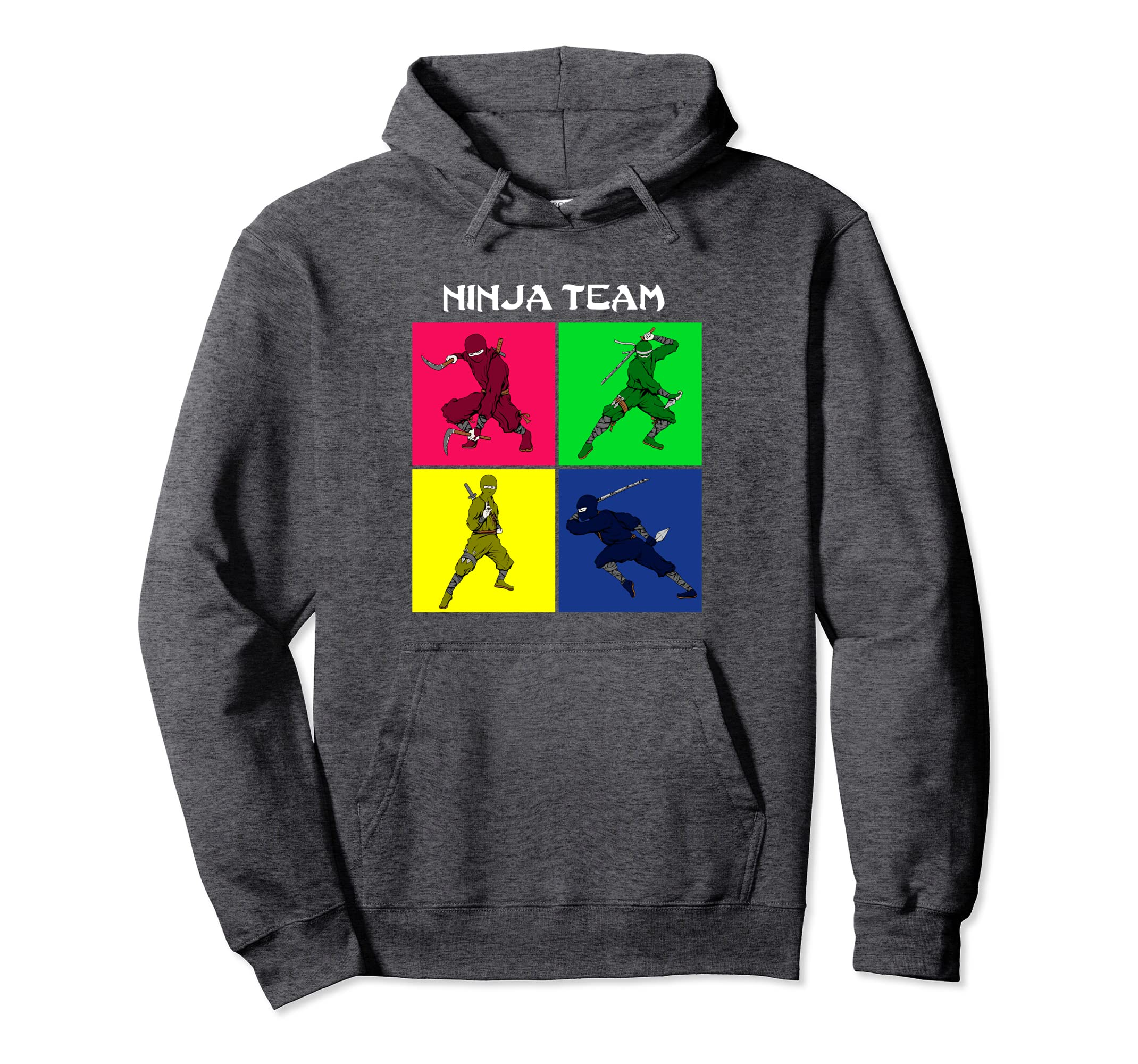 Amazon.com: Shinobi Hoodie team vintage ninja warrior ...