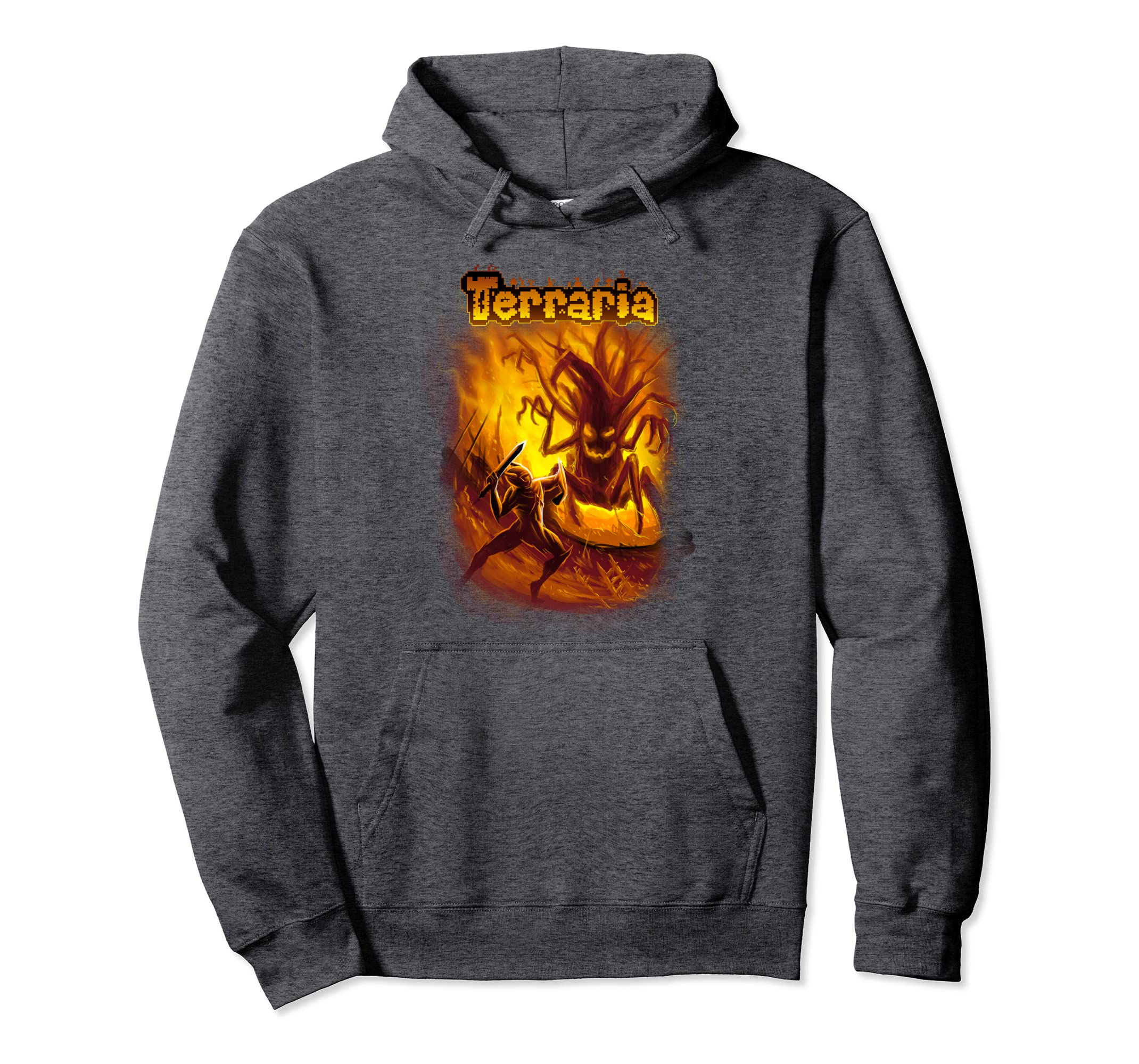 Amazon com: Terraria Hoodie: Mourning Wood: Clothing