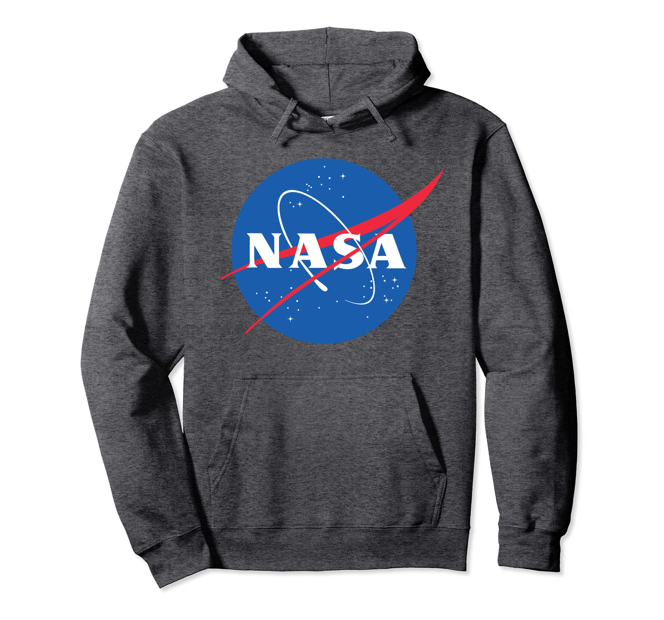 d47d93bc0 Amazon.com: NASA Hoodie Sweatshirt - Officially Approved -Unisex: Clothing