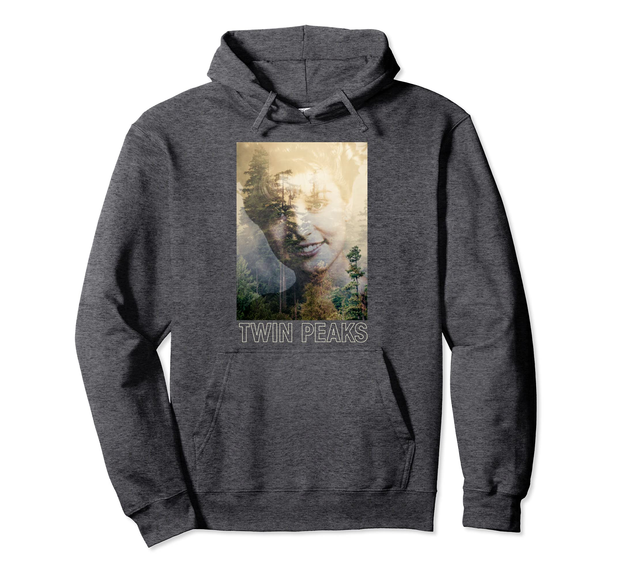 Twin Peaks Laura Double Exposed Photo Hoodie-SFL
