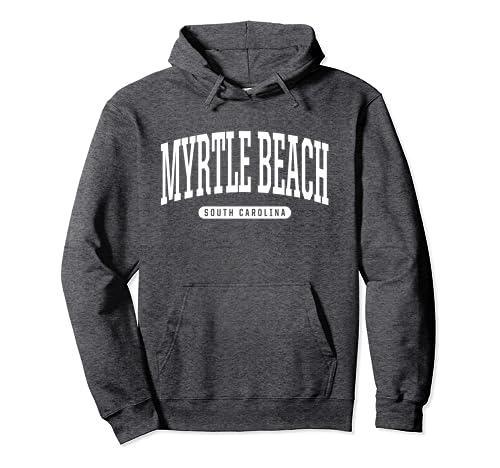 d80f14678f Amazon.com: Myrtle Beach Hoodie Sweatshirt College University Style ...