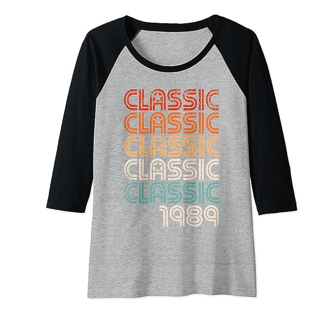 Amazon.com: Raglan - Camiseta de béisbol de 30 años, diseño ...