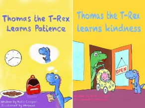 Thomas the T-Rex (2 Book Series)