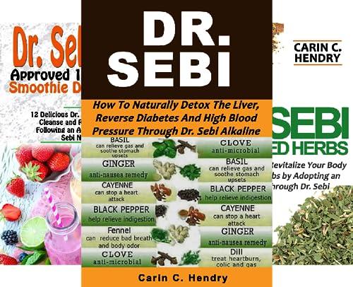 Dr. Sebi Books (11 Book Series)