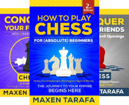 Chess for Beginners: Conquer Your Friends (4 Book Series)