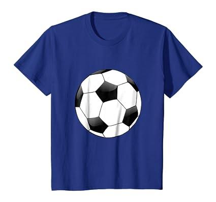 Kids Sports T-shirts Soccer Ball Sun Youth Soccer Shirts