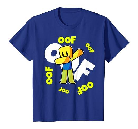 Roblox Oof T Shirt 4 Colors Amazon Com Oof Meme Dabbing Dab Gift Noob Gamer Boy T Shirt Clothing