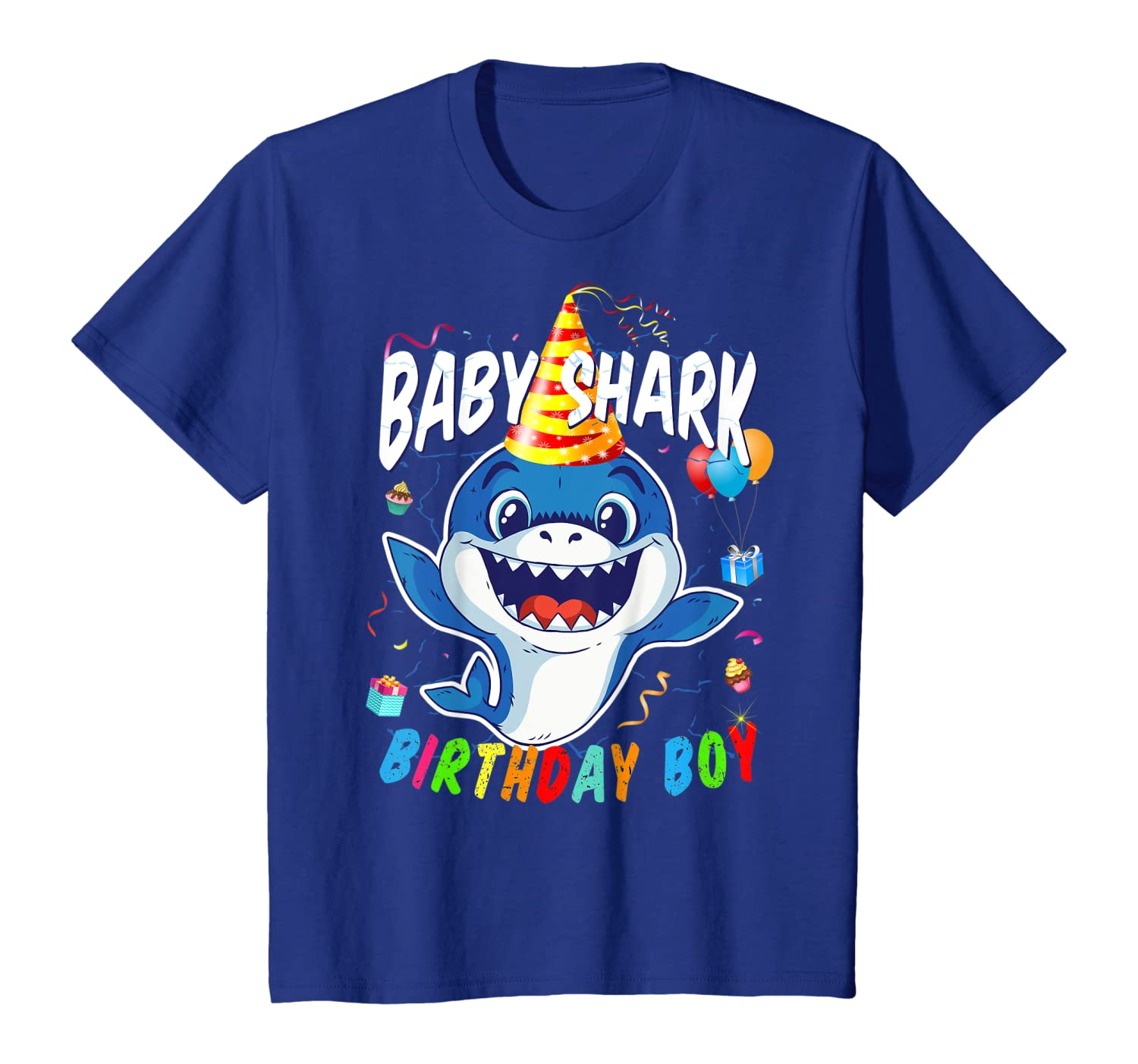 baby shark personalised your name childrens babies adults tee t shirts clothing