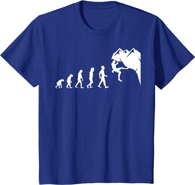 Rock Hugger Rock Climbing T-Shirt Funny Novelty Mens tee TShirt
