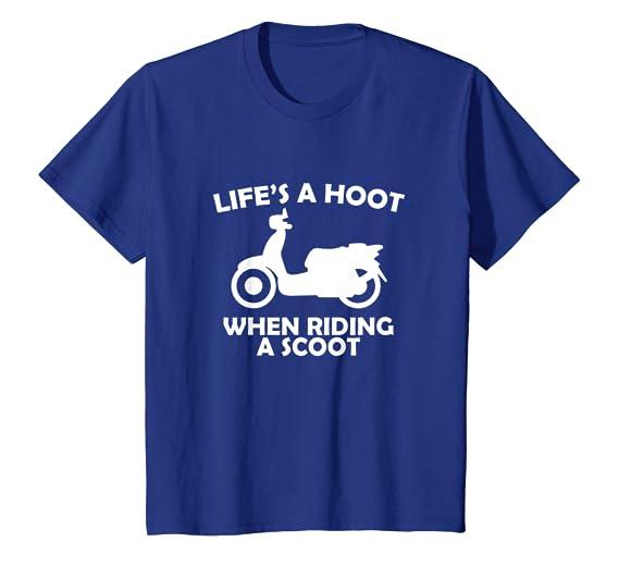 Amazon.com: Life s a Hoot cuando se conduce un Scoot ...
