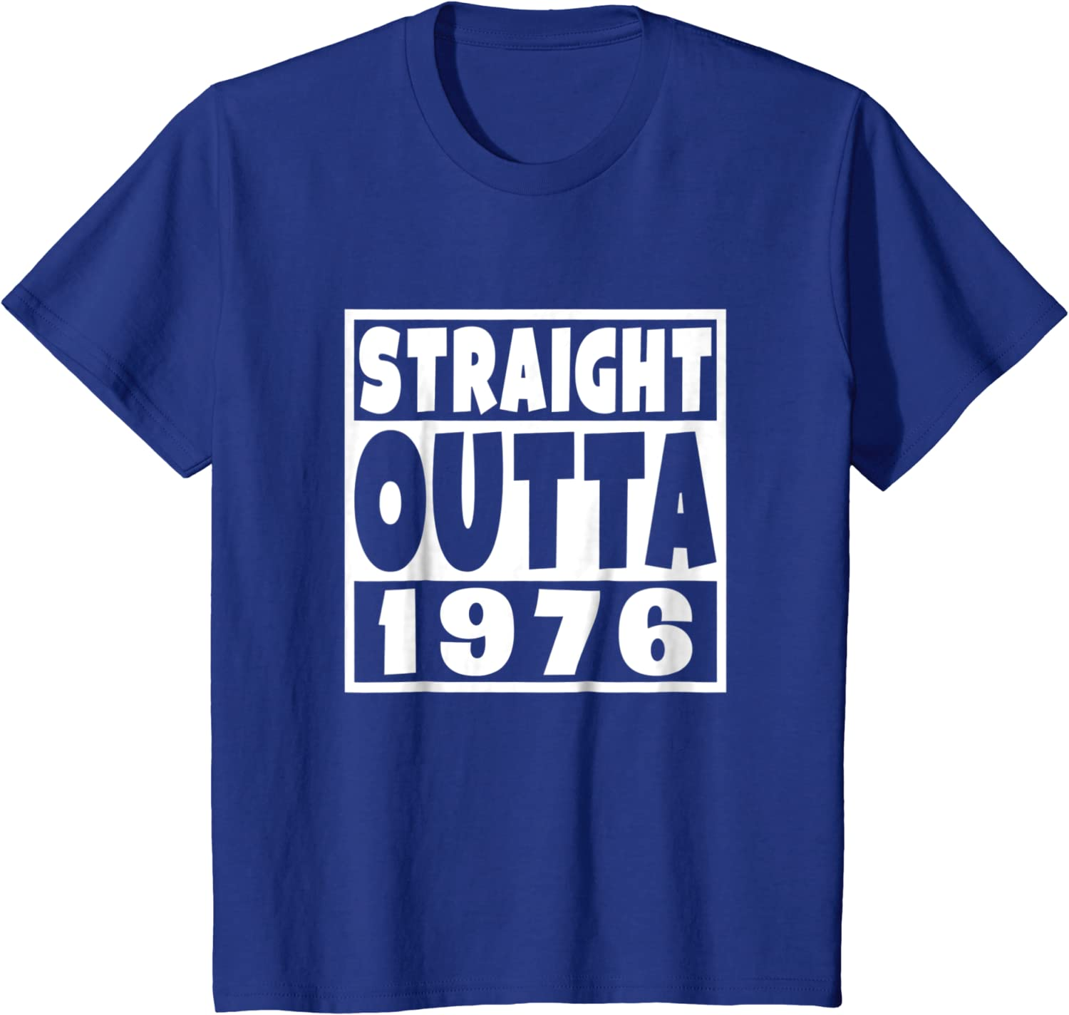 Straight Outta 1976 Shirt 42nd 42 year old Birthday Gift