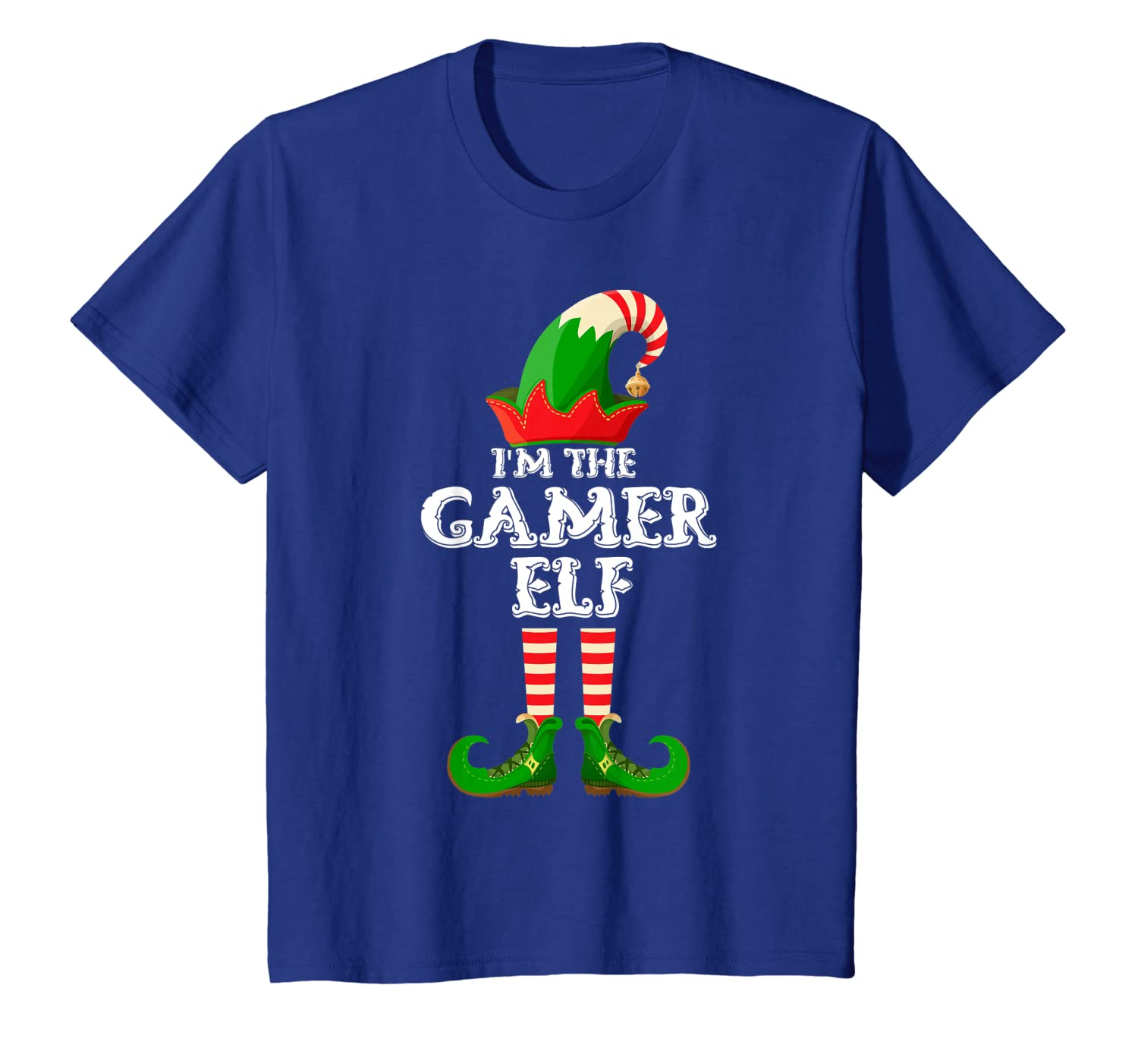 The Gamer Elf – Funny Matching Family Group Christmas Gifts T-Shirt