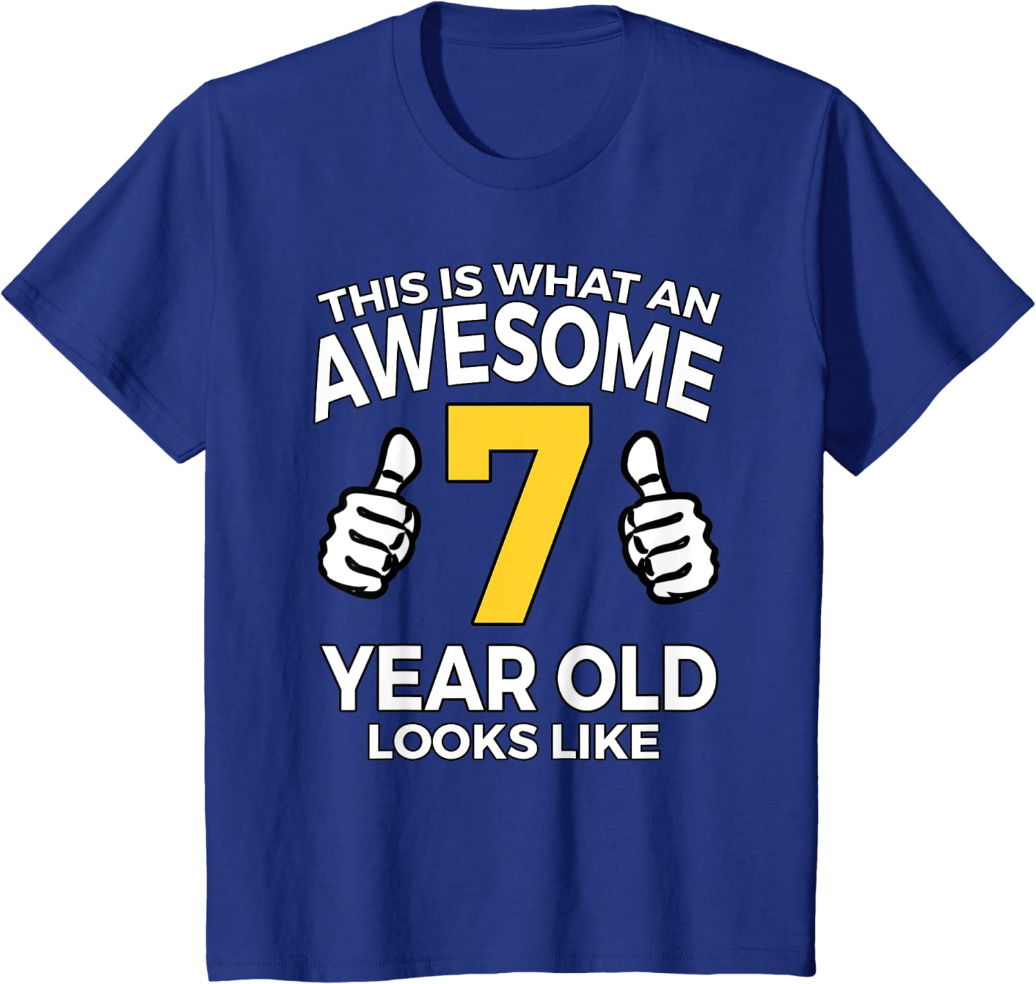 Version 7.0 7th Birthday Gifts Present ideas Gaming T-Shirt For 7 Year Old Boys