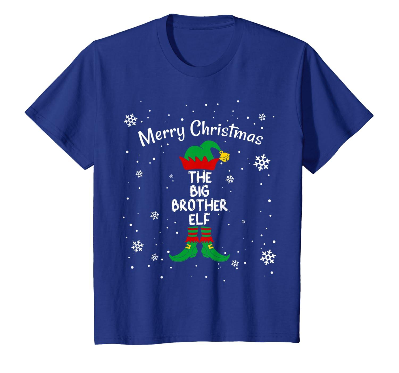 The Big Brother Elf, Merry Christmas, Christmas Elf Matching T-Shirt