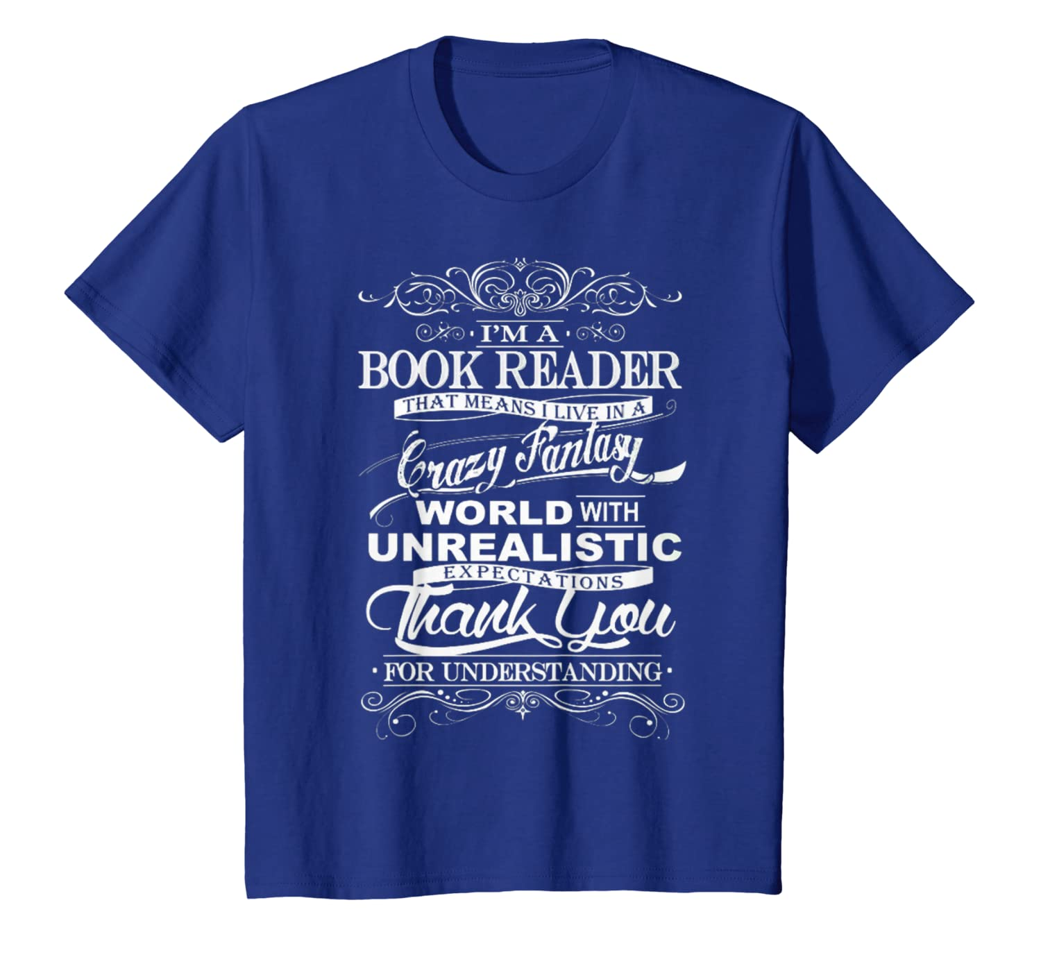 5e7ddc224f6b0 Book Reader Tshirt - I'm Book Reader Gift For Reading Fans