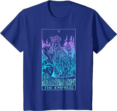 11:11aligned Apparel The Empress Shirt Tarot Shirts Tarot Deck Cards T Shirts The Emperess Card The Empress T-Shirt Tarot T-Shirts