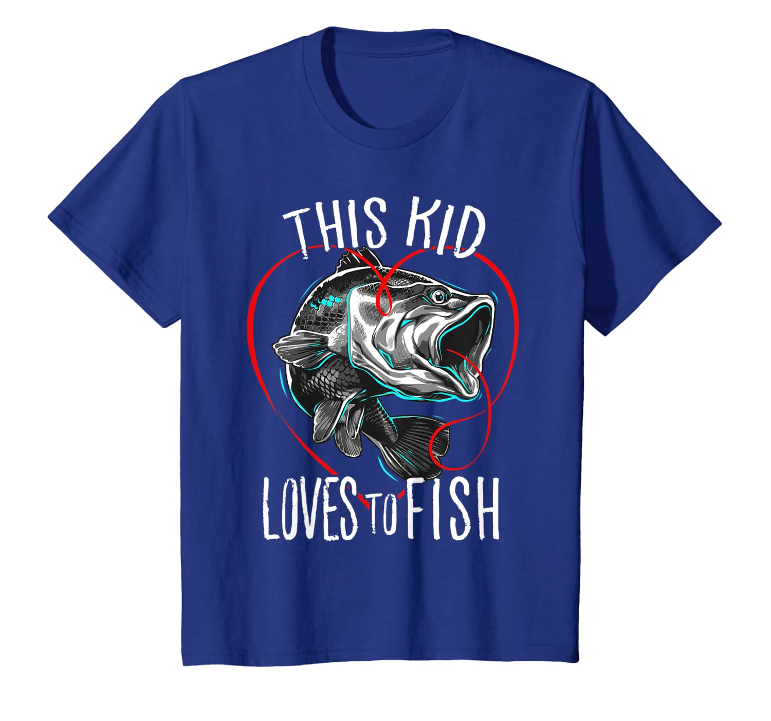 Kids Fishing Tshirts  This Kid Loves to Fish T Shirt Unisex Tshirt