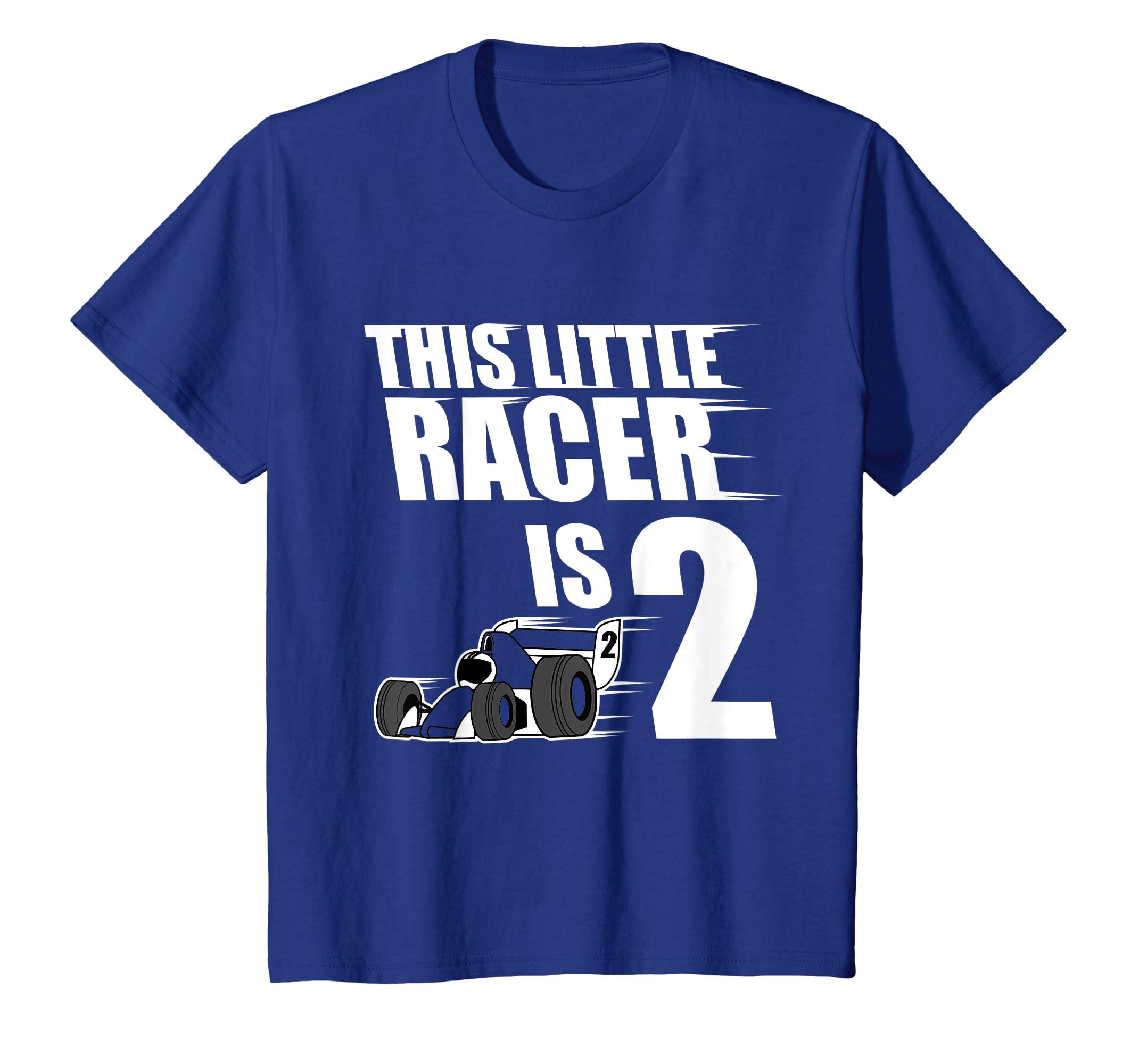 Amazon Kids 2nd Birthday Boys Race Car T Shirt Racing 2 Year Old Clothing
