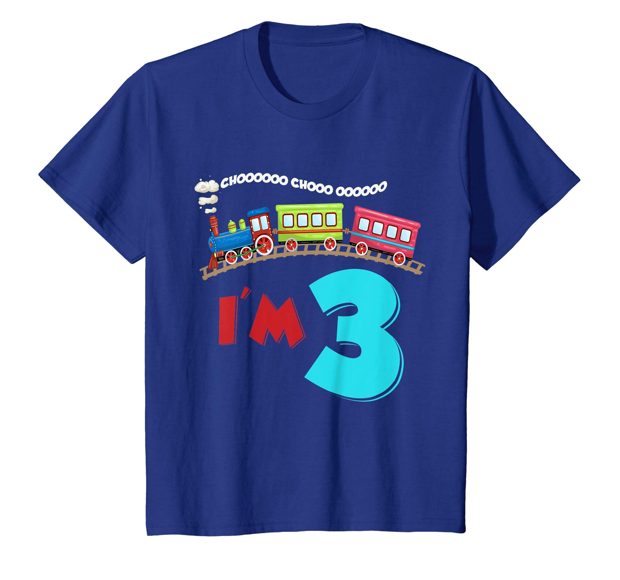 Amazon Kids 3 Years Old 3rd Birthday T Shirt