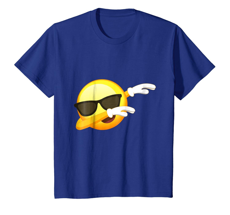 af70ad05 Amazon.com: Funny Dabbing Emoji Shirt - Cool Emoji Dab T-Shirt: Clothing